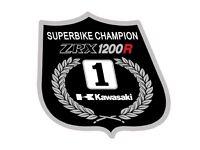 Kawasaki ZRX 1100 EDDIE LAWSON Superbike Champion Décalque Autocollant