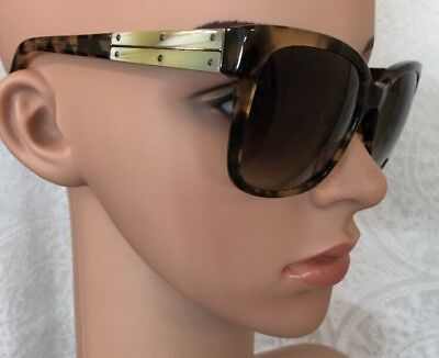 Lanvin Sunglasses Beige Clear Frame Horn On Sides With Screws