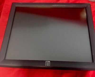 Elo 17 Inch Touch Screen Monitor Touchsystems Lcd Model Et1715l-8cwb-1gy-g