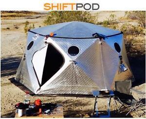 "NEW SHIFTPOD 4-SEASON SHELTER TENT - 124690079 - Size: 12"" x 12"" x 74"" Weight: 57LBS (25KG)"