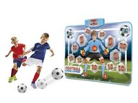 Football challenge electronic shooting practice mat and ball unwanted present