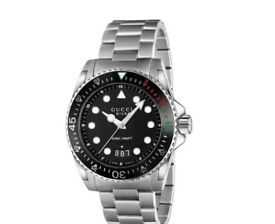 Gucci Dive Men's Stainless Steel Bracelet Watch