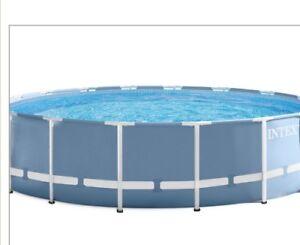 Brand New Intex 16 ft Prism Frame Pool Set