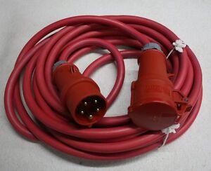 Drehstromkabel Verlängerungskabel 400 Volt -10 Meter HO 7 RN-F  - 5 x 4,0 mm²
