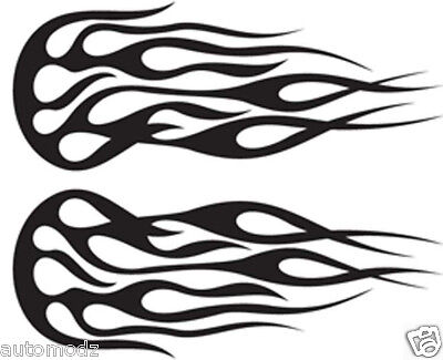 Paint Tribal Flames - RC airbrush stencils/ paint masks tribal flames 18 (SINGLE USE ONLY)