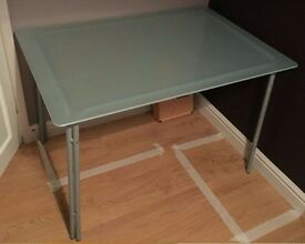 Frosted Glass Table FREE DELIVERY 448