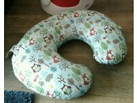 Baby feeding seat support pillow