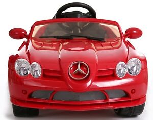 12V Mercedes Benz SLR 722 Kids Ride On Car Electric Powered Wheels MP3 Remote RC
