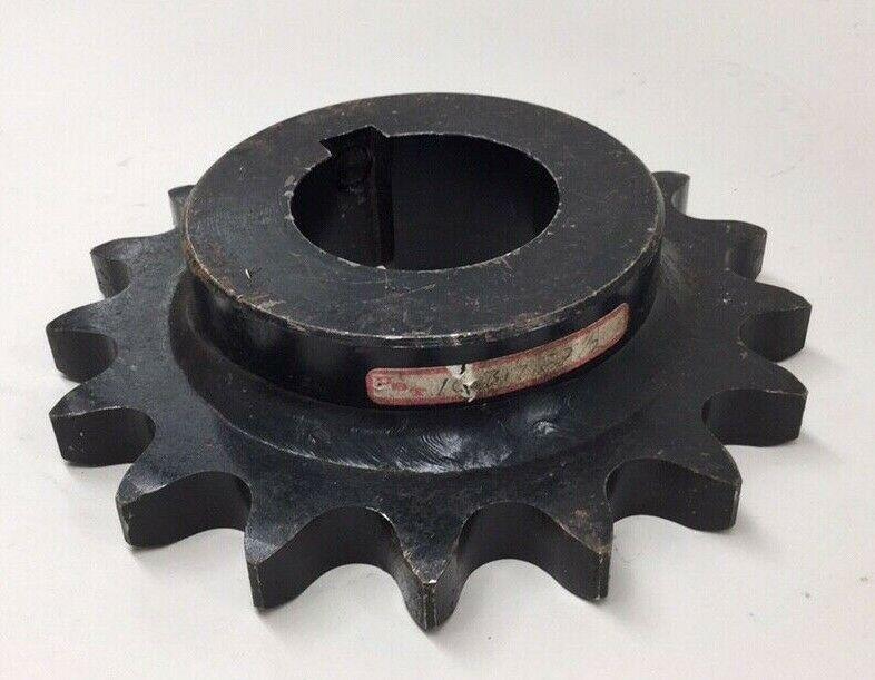 UST 100BS17 2 1/2 Sprocket Bored To 2-1/2 5/8 Keyway 17 Teeth 7-1/2 OD - $65.00
