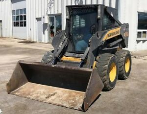 New Holland L175 Skid Steer