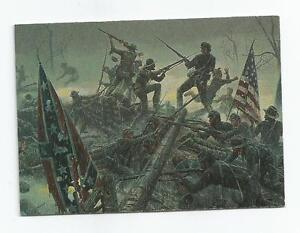 civil war trading cards 1996
