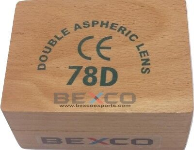 BEST PRICE 78D ASPHERIC NON CONTACT LENS BY TOP QUALITY BRAND BEXCO DHL