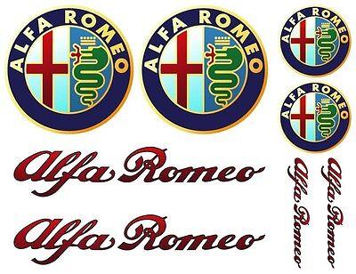 Alfa Romeo Decal Set