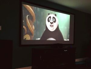 106-inch Fixed-frame Projection Screen