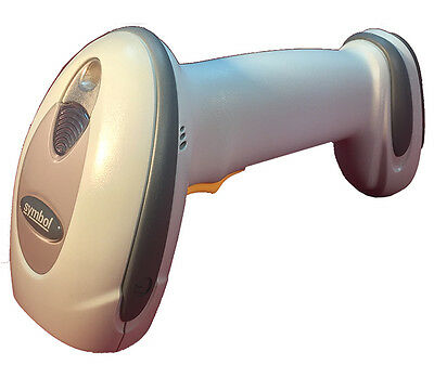 Motorola Symbol Bluetooth Ls4278 Wireless Laser Cordless Barcode Scanner White