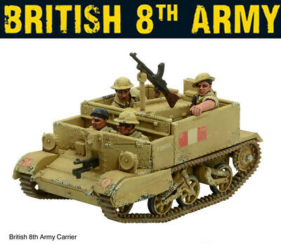British 8th Army Universal Carrier 28mm/1/56th WWII WARLORD GAMES BOLT ACTION