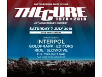BST Hyde Park - The Cure (General Admission Tickets x2)