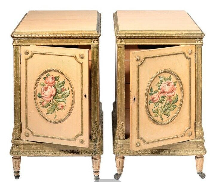 Nightstands - Louis XVI Style, Circa 1930's By Berkey & Gay