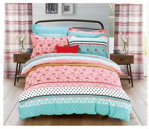 Princess Bedding Set in Pink and Green