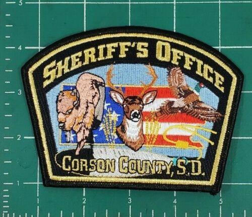 CORSON COUNTY SD SOUTH DAKOTA SHERIFF