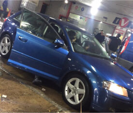 AUDI A3, 2008 57 PLATE, 2.0 TDI SPORT, 5 DOOR HATCH, 8 SERVICE STAMPS, HPI CLEAR SERVICE HISTORY