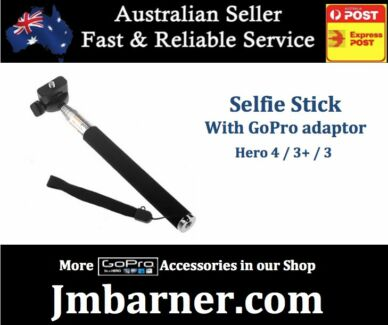 For Gopro - Monopod Selfie Stick Extendable - Hero 4 3 3+ 2 NEW Perth Region Preview