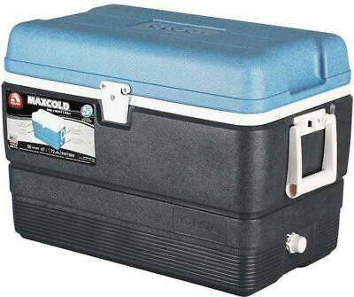 IGLOO MAXCOLD 50 QT 48 LTR LARGE INSULATED COOL BOX COOLER * NEXT DAY *