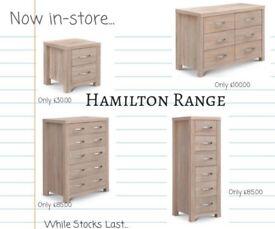 Julian Bowen Hamilton Bedroom Furniture - Ex Display, Amazing Condition