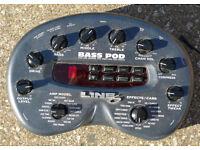 Line 6 Bass Pod - Bass Amp Modeller and Effects Unit