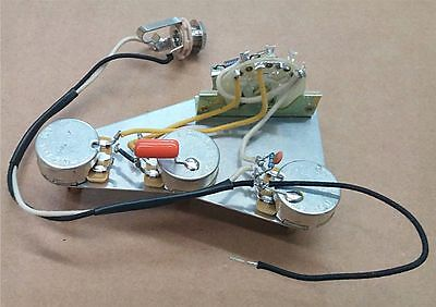 premium wiring harness for stratocaster cts 275k (9% tol) custom pots crl  switch