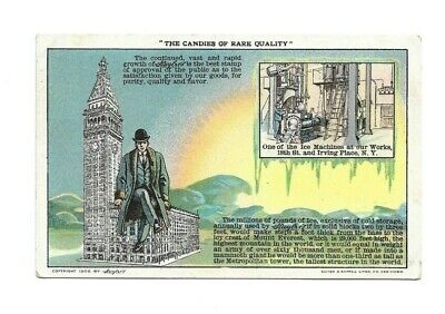 Early Postcard Huyler's Candy Irving Place NY #2 3266