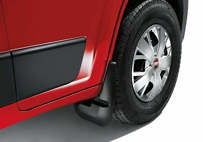 Fiat Ducato Front Mudflaps PAIR / Mud flap guards 50901517 NEW & GENUINE