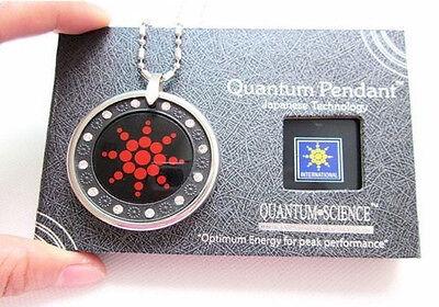 Quantum Nano Science Scalar Energy Pedant Stone Cellular Phone Block Radiation