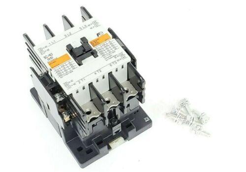 NEW FUJI ELECTRIC SC-N3 CONTACTOR MAGNETIC 110/120VAC, 50/60HZ, SCN3, SC65BAA