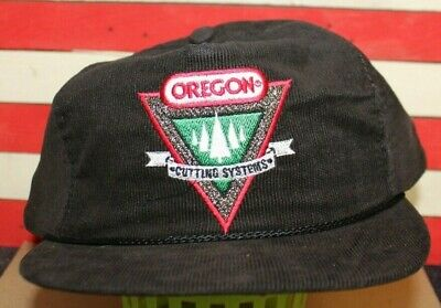 RARE NOS OREGON CUTTING SYSTEMS Chainsaw Truckers Hat Cap