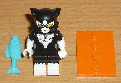 Lego Sammelfigur Serie 18 Frau im Katzenkostüm