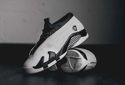 NIKE AIR JORDAN 14 RETRO LOW PRM GG   SZ: 7Y (YOUTH) 807510 027