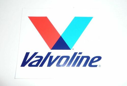 VALVOLINE Decal 5 inches NEW SET OF FOUR