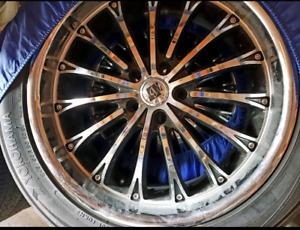 Yokohama 20 inch tires with rims