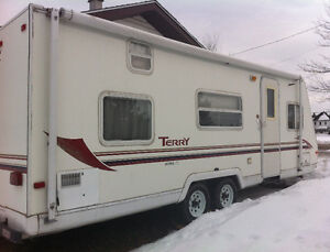 25 Foot Terry Trailer