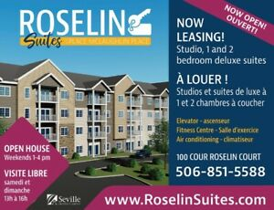 NOW LEASING - MONCTON'S NEWEST APARTMENT HOMES