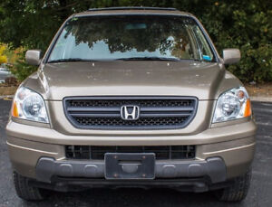 2005 Honda Pilot - Leather interior, 8 seater, Sunroof