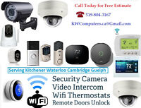 Surveillance Camera - Remote Door Openers - Video Door Bell