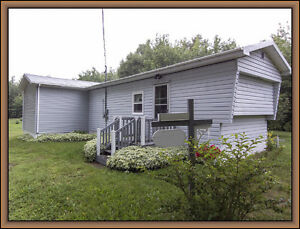 NO LOT fees, mini-home + one acre lot in Bathurst! $34,900