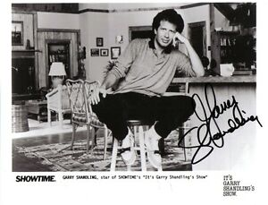 8X10 B&W Photo Autographed by Garry Shandling London Ontario image 1