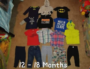 Boys 12 - 24 month's