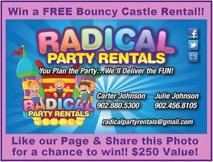 ENTER TO WIN A FREE BOUNCY CASTLE RENTAL!!!