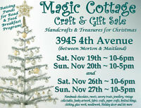 9th Annual Magic Cottage Craft & Gift Sale