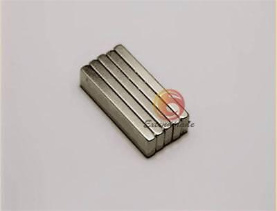 N52 10pcs Big Strong Block Bar Fridge Magnets 40x10x4 Mm Rare Earth Neodymium