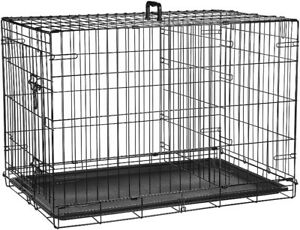 """Brand new in Box 36"""" WIRE Crate for DOG PET Kennel"""